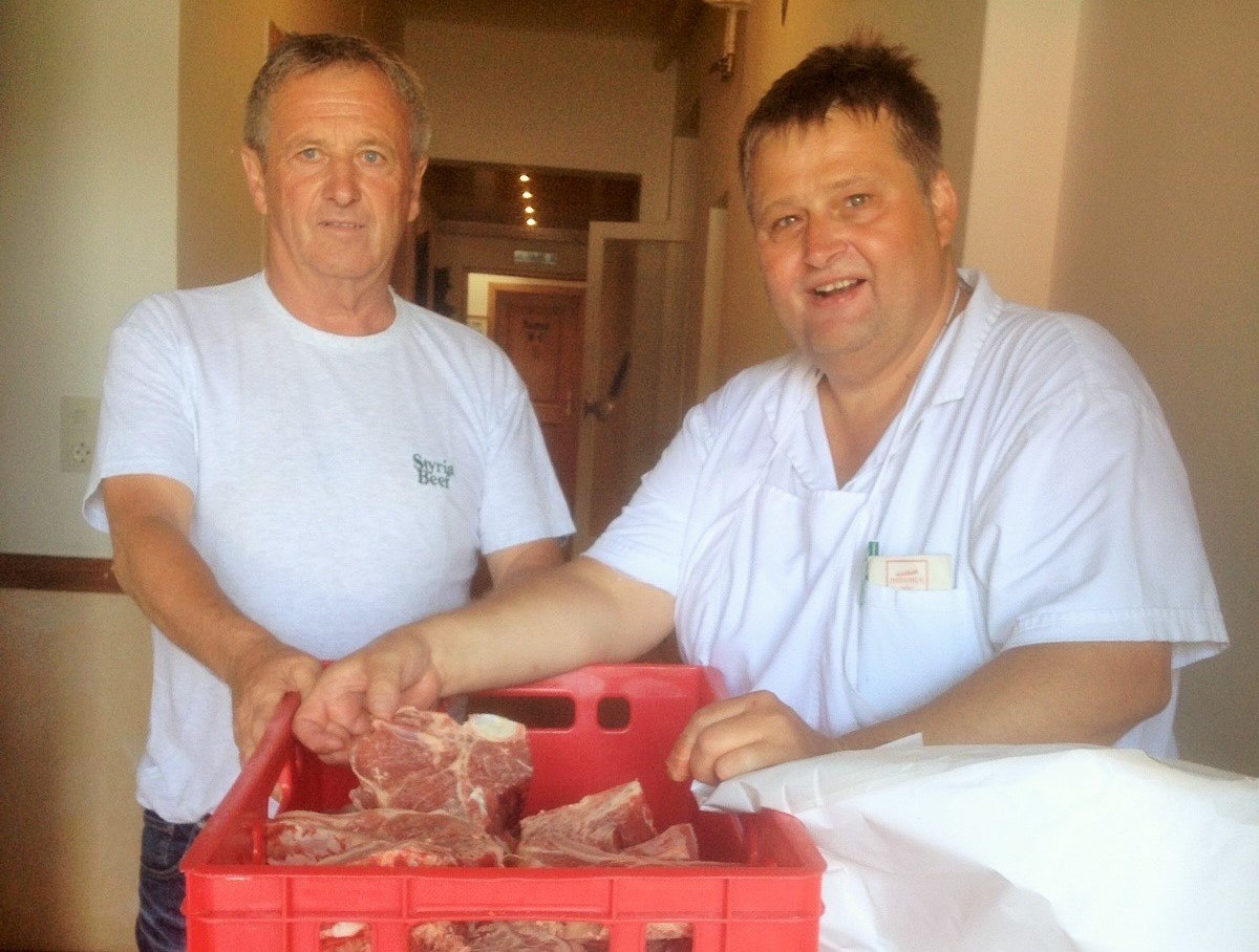 Styria Beef aus Hall, ein regionales Produkt für unsere Gäste